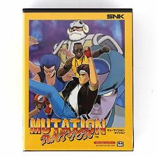 Mutation Nation Neo Geo SNK AES Japan Very Good