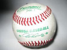 Usssa Baseball One Baseball Signed Diamond Dol-1 (one) Leather
