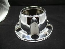1980-1996 FORD BRONCO F150 F-150 Front Wheel Hub Open 4x4 Center Cap CHROME OEM