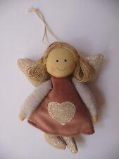 Engel ❤ L= 15 cm ❤ Stoff Schutzengel Weihnachten Kommunion Taufe Geburtstag Deko