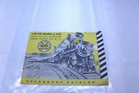 Vintage 24 Page Marx Toys Scaled Train Toys Accessory Catalog Undated