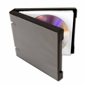 UniKeep 10 CD / DVD Binders, Black - CD-020-00049