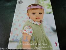 King cole baby book 7 élégant knits de la naissance à 7 ans