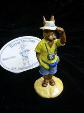 "Royal Doulton Bunnykins ""Tourist Bunnykins"" Figurine DB-190"