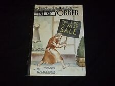 2009 JANUARY 5 NEW YORKER MAGAZINE - BEAUTIFUL FRONT COVER - C 3530