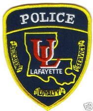 LAFAYETTE UNIVERSITY POLICE PATCH