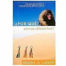 Por Que Somos Diferentes = Why Are We Different? (Paperback or Softback)