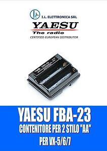 FBA-23 YAESU Pack Blank Original For VX-5, VX-6, VX-7 100019