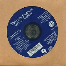 THE ISLEY BROTHERS Let's lay Together w/ INSTRUMENTAL CD single SEALED R. KELLY