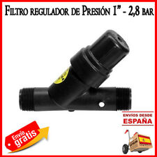 "Filtro malla 32mm 1"" con regulador presion 2.8 bar. Filtro reductor Rain Bird"