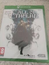 CALL OF CTHULHU XBOX One PAL _ VERSION FRANCAISE _ NEUF CELLO OFFICIEL BRILLANT
