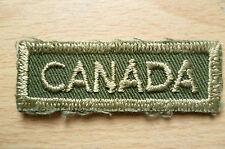 Patches: SURPLUS CANADIAN MILITARY PATCHES (NEW, apx.6x2 cm)