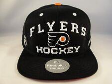 Philadelphia Flyers NHL Reebok Snapback Hat Cap Black