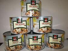 (5,31 €/kg) Thunfisch-Stücke in eig.Saft & Aufguss, 6 Großdosen, Adria