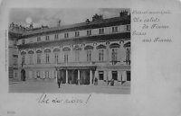 1093) CROAZIA, UN SALUTO DA FIUME, GRUSS AUS FIUME, PALAZZO MUNICIPALE. VG 1898.