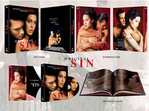 Original Sin (2015, Blu-ray) - Full Slip Scanavo Limited Edition (500 copies)