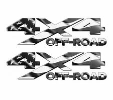 4x4 Off Road SUBDUED American Flag TRUCK USA Decal/Sticker! JEEP GM CHEVY FORD