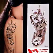 Fashion Flower Waterproof Tattoo Temporary Tattoos Sticker