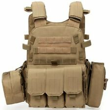 Tactical Strike Plate Carrier Nylon Vest Ballistic Outdoor Military Equipment