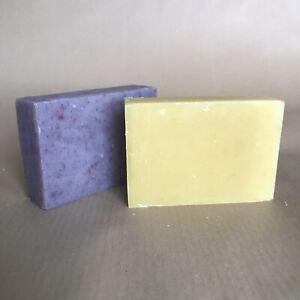 Handmade, Vegan Soap. Patchouli & Tea Trea. 2 bars. Palm free. Plastic free.