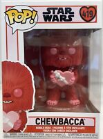 Funko Pop Chewbacca Star Wars Valentines Day #419 Disney Lucasfilm Vinyl Figure