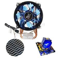 LED CPU Cooler Fan Heatsink for Intel Socket LGA1156/LGA1155/LGA775 AMD AM3 new