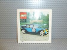 LEGO® Town Classic Bauanleitung 391 1926 Renault ungelocht instruction B217