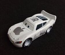 Custom Disney Cars #95 Lightning McQueen White Apple Racer 1/55 Diecast