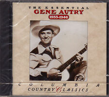 CD 18T GENE AUTRY THE ESSENTIAL 1933-1946 BEST OF 1998 NEUF SCELLE