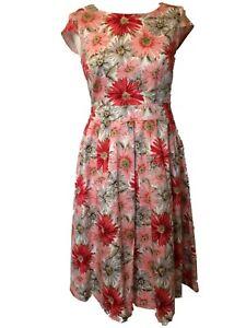 50's Style Daisy Dress