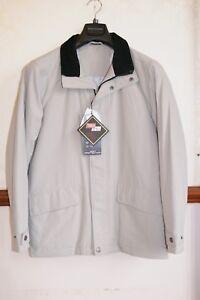 New Mens Brook Taverner 38R Frog Wind WaterProof Jacket Stone RRP £150