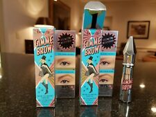 Set of 2 Benefit Gimme Brow #1 Travel Size 1g /.03 oz. each - New in Box