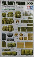 Tamiya 35266 1/35 Scale Model Kit Modern US Army Military Vehicle Equipment Set