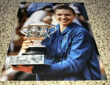 Simona Halep Signed 8x10 Photo With Proof