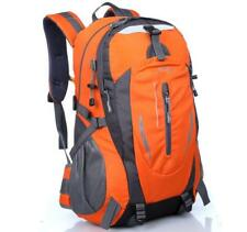 35L Unisex Outdoor Waterproof Nylon Backpack Korea Style Travel Hiking Rucksack