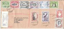 TONGA REGd 1951 COVER TO UK