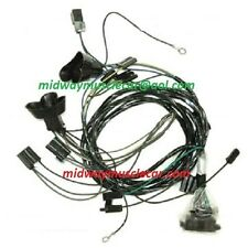 front end headlight lamp wiring harness 64 Pontiac GTO Lemans tempest 1964