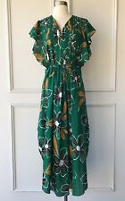| COUNTRY ROAD | dotted floral maxi dress jungle green | NEW | $199 | SIZE: 6-8