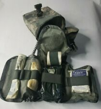 US Military ACU MOLLE IFAK Improved First Aid Kit Complete w/ Supplies EXC