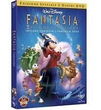 DISNEY DVD FANTASIA E FANTASIA 2000 fuori catalogo