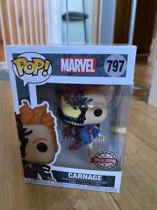 Funko Marvel Pop! Carnage Exclusive 797