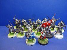 18 Gondor Krieger + Kommando für Herr der Ringe