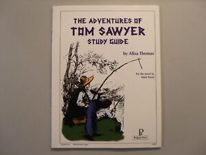 """""""The Adventures of Tom Sawyer Study Guide"""" by Alisa Thomas"""