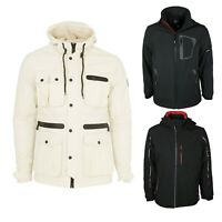 Men's Big King Size Hooded Jacket Winter Coat Designer Overcoat All Sizes S-8XL