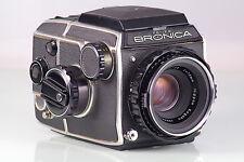 schöne Zenza BRONICA EG Nikkor-p 2.8/75mm 75 6X6 WLF classic Ausgezeichnet