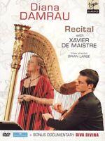 DIANA/DE MAISTRE,XAVIER DAMRAU - RECITAL & DIVA DIVINA  DVD NEW+ SCHUMANN/FAURE