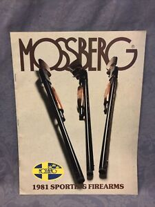 Mossberg 1981 Sporting Firearms Catalog