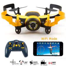 DRONE QUADRICOTTERO CON TELECAMENA MINI UFO FPV WIFI JXD 512W RITORNO AUTOMATICO