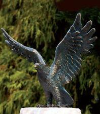 Bronzefigur Seeadler H31cm Rottenecker Bronze Adler Falke Vogel Dekoration