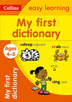Collins Easy Learning - My First Dictionary Ages 4 To 5 ' Collins Dictionaries